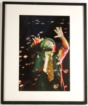 Cibachrome Print, Clown, Lynn Saville