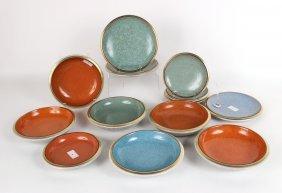 Royal Copenhagen Ceramic Bowls And Plates