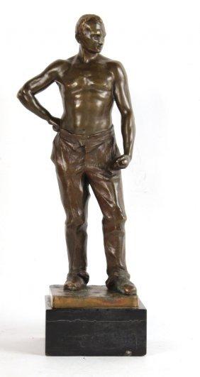 Bronze Sculpture, Gerhard Schliepstein