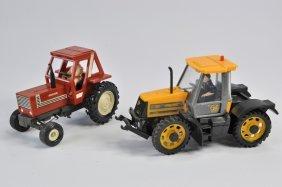 Scarce Britains Hesston 2wd Tractor Plus Sp Harris Jcb