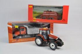 Ros 1/32 Hesston 4700 Large Baler, Ros 1/24 New Holland