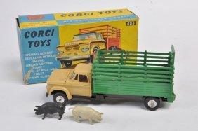 Corgi No. 484 Dodge Kew Fargo Livestock Transporter.