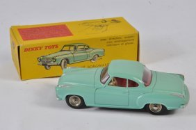 French Dinky No. 549 Borgward Isabella Coupe In