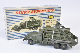 French Dinky No. 884 Military Camion Brockway With