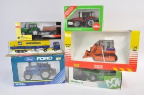 Group Of Agricultural Diecast From Various Makers