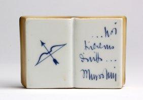Gio' Ponti - Richard Ginori - Book Shaped Paperweight