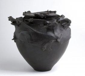 Duilio Cambellotti - Vase Of Horses