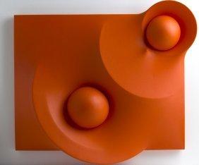 Hector Rigel - Orange Surface 32, 2015