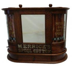 #161- Rare Model Dated 1897 Merrick's Double Wide Spool