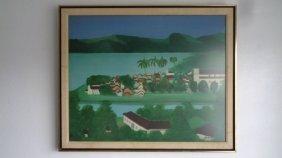 Vintage Original Djamira 60' Framed Print
