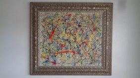 R Medina (1958 Ameri Born) New York - Original Painting
