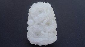 Jade Carving White Jade Pendant