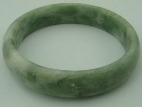Jade Chinese Bangle Bracelet
