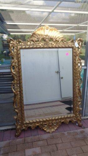 Beautiful Large Gold Beveled Mirror