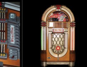 "Juke Box Wurlitzer Model 1015 ""the Bubbler"""