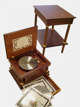 Reuge Disc Music Box Ad 41