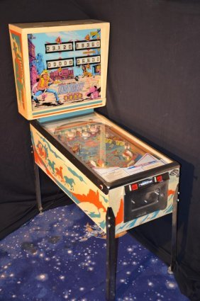 Fast Draw, Famous Pinball By D. Gottlieb & Co.