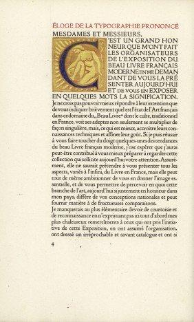 Margerie, Pierre De: �loge De La Typographie