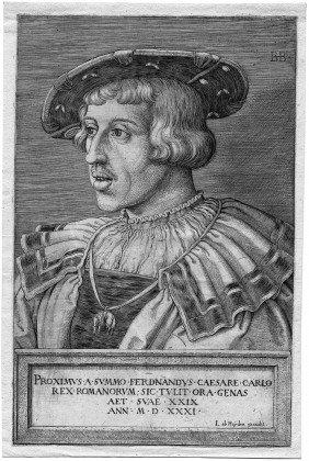 Beham, Barthel: Bildnis Kaiser Ferdinand I