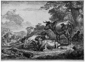 Berchem, Nicolas: Die Ruhenden K�he