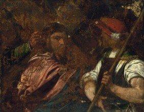 Venezianisch, 16. Jh. : Die Kreuztragung Christi
