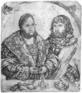 Cranach, Lucas D. �.: Friedrich Der Weise Und Joh