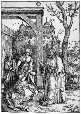 D�rer, Albrecht: Christi Abschied Von Seiner Mutt