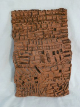 Relief Sculpture Terracotta By Donald Mavros
