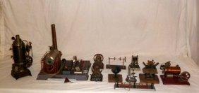 Collection Of Antique Steam Engines Weeden