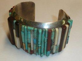 Native American Silver Bracelet Dee Morris
