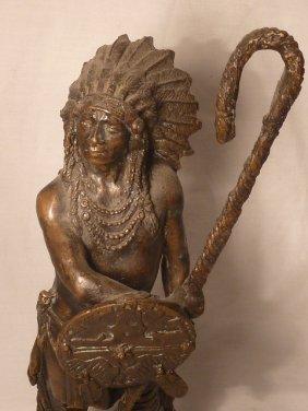 Bronze North American Indian Remington