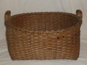 Oversize Splint Basket 1830's