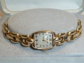 14kt Ladies Movado Watch With 14kt Movado Band