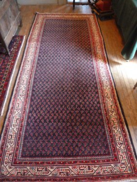 Persian Scatter Rug Tribal Pattern