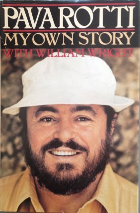 "Luciano Pavarotti, Signed Edition""memoir""1981"