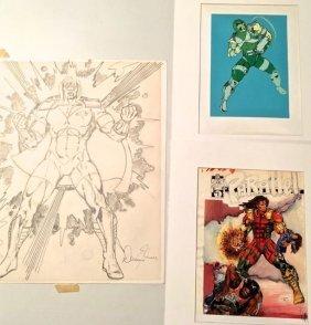 Parallel Comics, Super Heroes Cover Illustrations (3)
