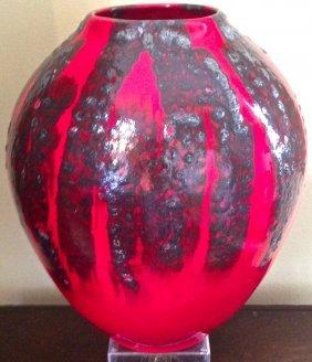 Modern Art Studio Pottery Vase