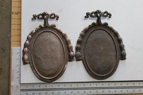 Solid Bronze Name Plates (pair)