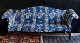 New England Federal Camel Back Sofa C. 1800