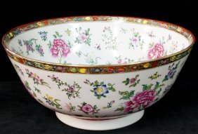 Asian Style Porcelain Bowl