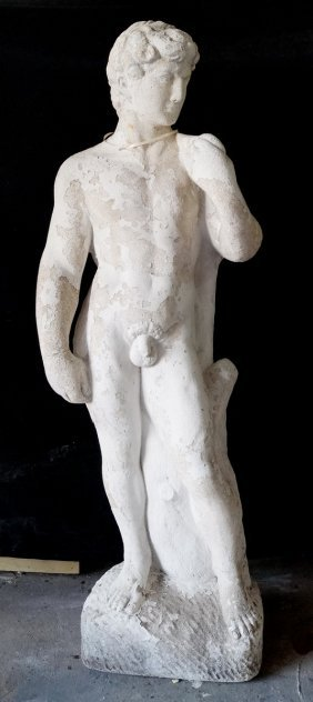 "Concrete Figure ""david"""
