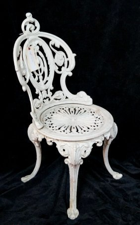 Victorian Cast Iron Chair