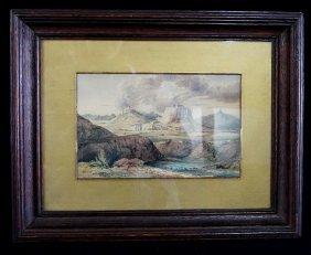 "Watercolor ""athens"""