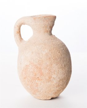 Large Ancient Holy Land Storage Pitcher.late Bronze Age