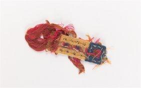 Ancient Egypt Coptic Textile Fragment C.5th Century Ad