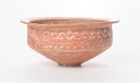 Ancient Roman North African Pottery Bowl C.2nd Cent Ad