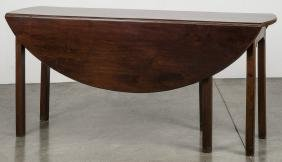 Georgian Mahogany Hunt Table, 18th C., 28 1/4'' H.