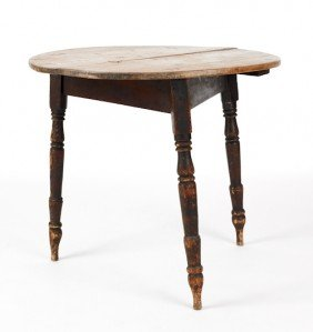 Pine Work Table, 19th C., 27 1/2'' H., 30 3/4'' W.