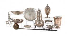 Group Of Continental Silver, 18th/19th C., To I