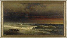 James Hamilton (American, 1819-1878), Oil On Ca